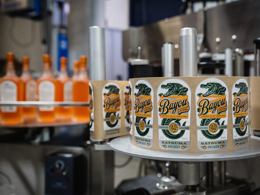 Bayou Rum production line