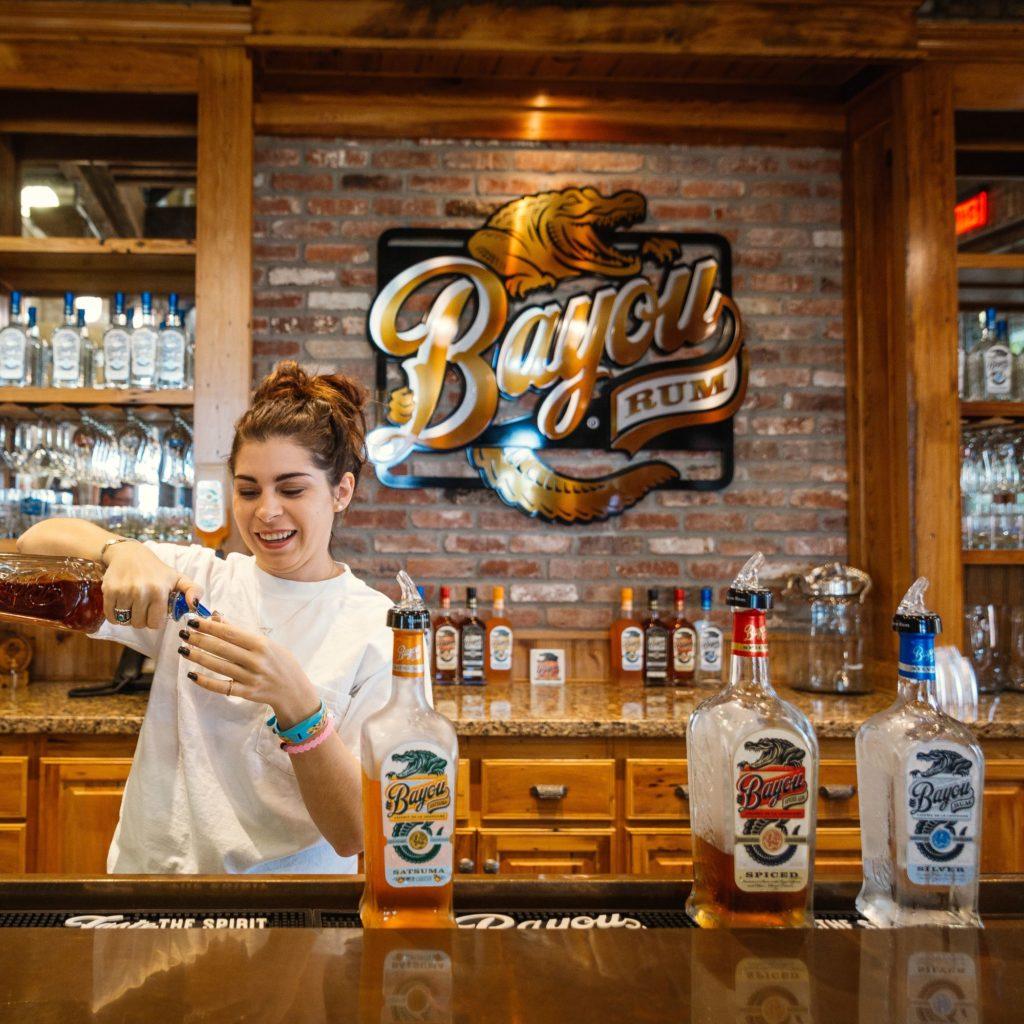 Bayou Rum tasting