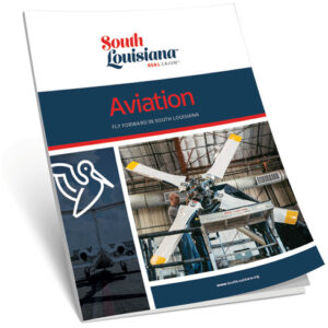 a photo of the aviation handout cover featuring a large propeller